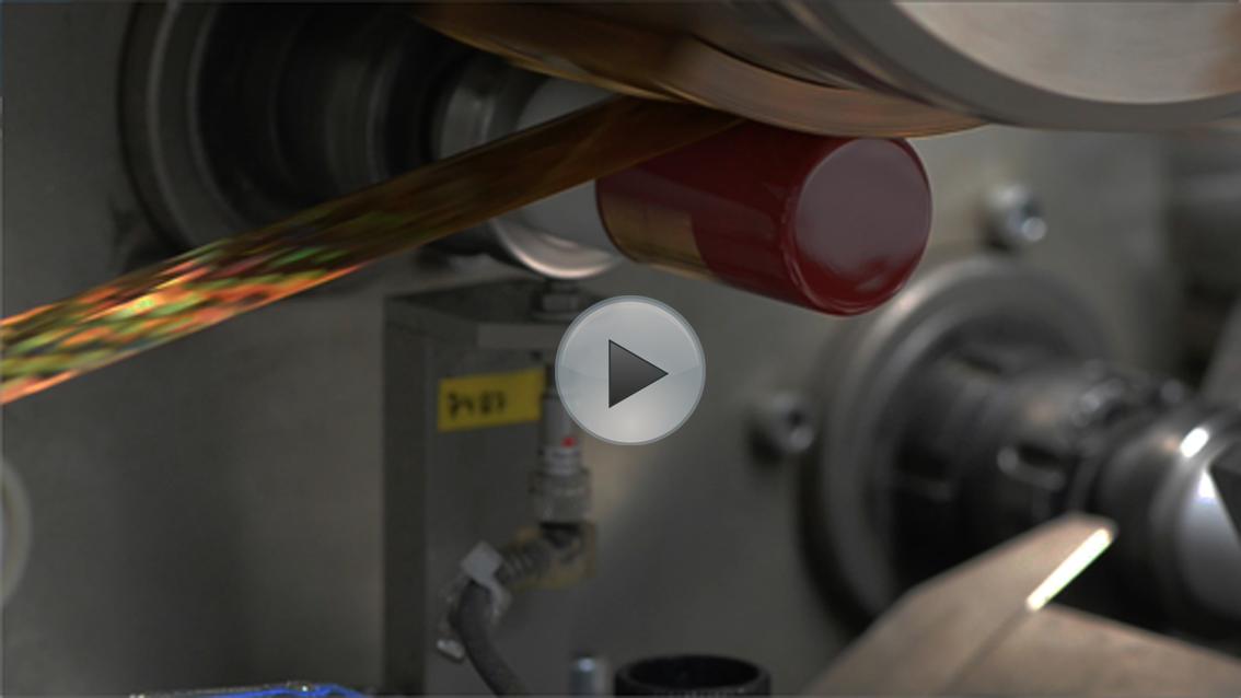 Aluminiumverschlüsse mit Heißfolienprägung - Longcaps veredeln